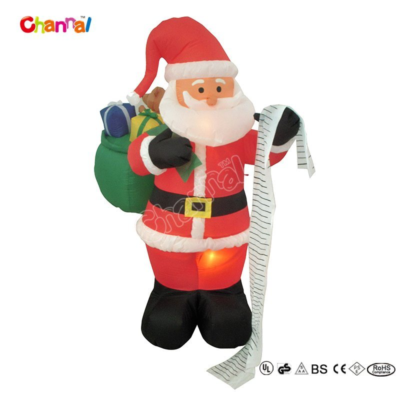 New Design Indoor Nylon Inflatable Toy for Christmas (CHX1418)