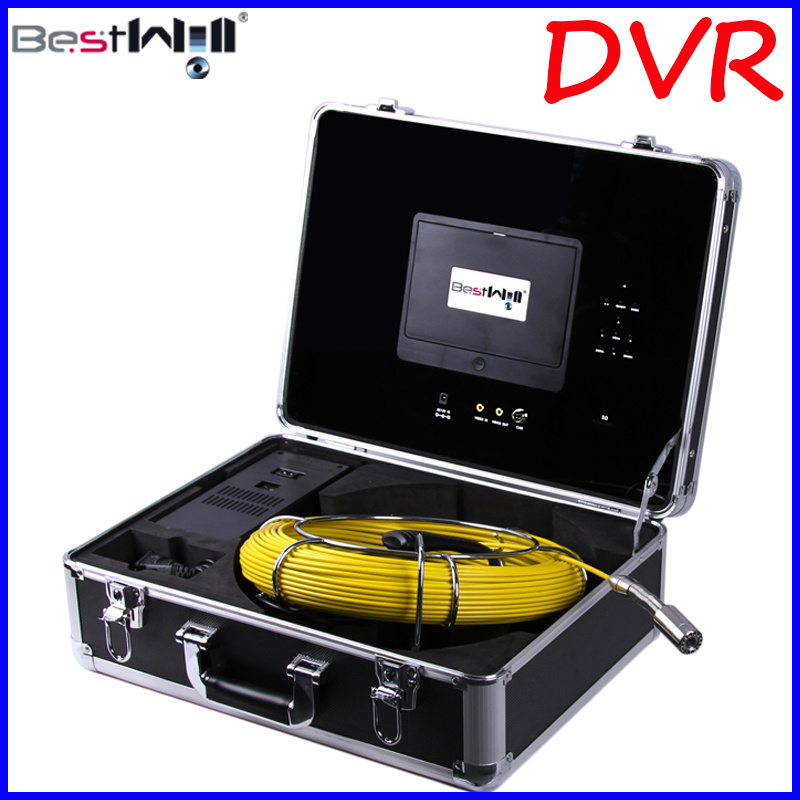 7′′ Digital Screen DVR Pipe/Sewer/Drain/Chimney Video Inspection Camera 7D