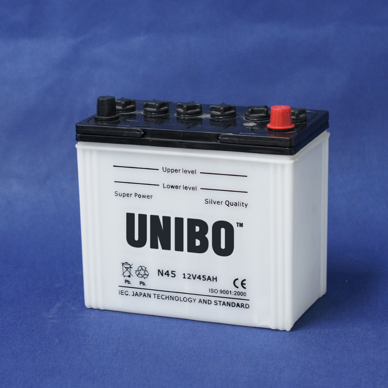 Storage Battery Auto Battery JIS Standard Dry Charged N45 12V45ah