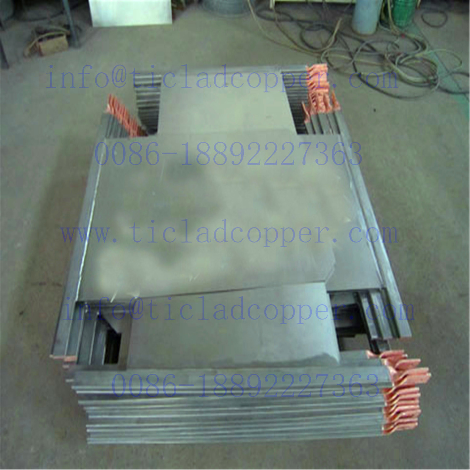 Stainless Steel Cathode Plate for Copper Electrowinning/ Copper Electrorefining