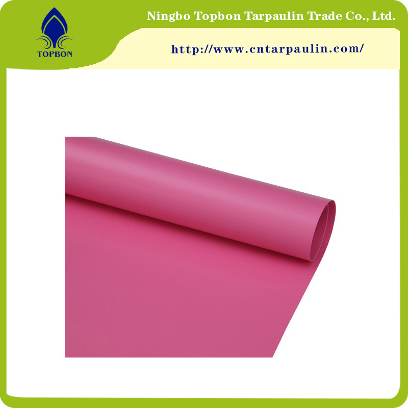 PVC Coated Polyester Fabric for Bag and Luggage Tb034