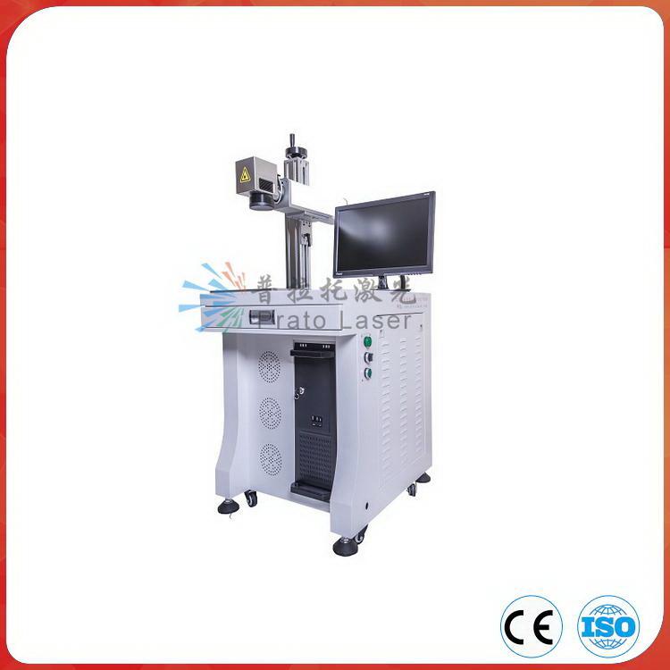 Plastic Desktop Fiber Laser Marking Machine with Ce Certificate