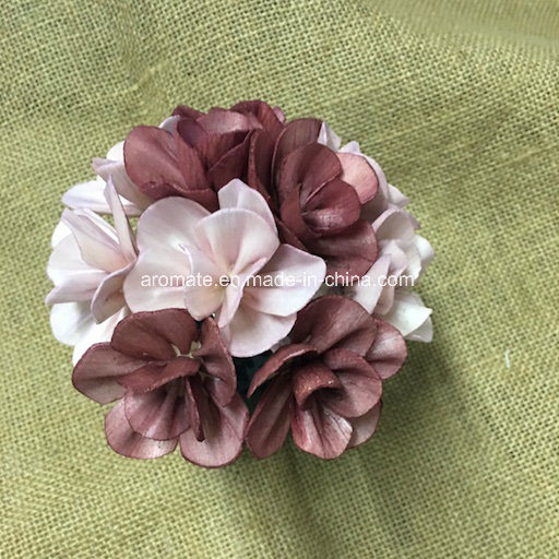 Decoration Colored Artificial Wood Flower (SFA46)