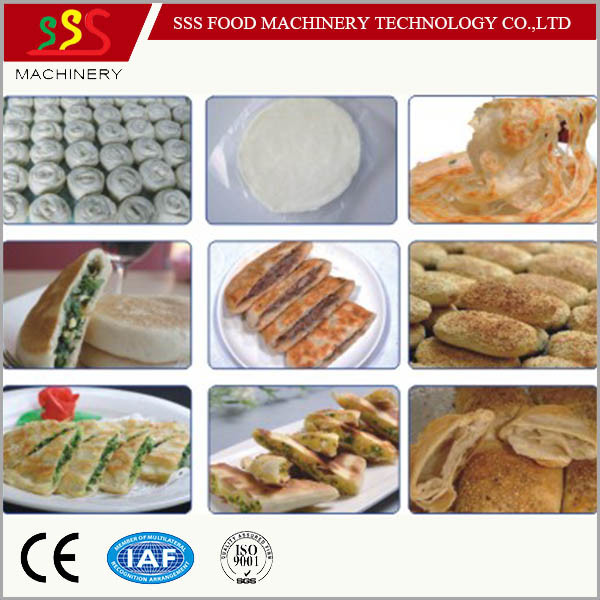 High Output Automatic Encrusting Machine Stuffing Machine Pancake Pastry Making Machine Manufacturer