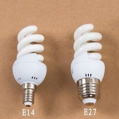 Small Full Spiral 9-15W Energy Saving Lamps 2700k-6500k