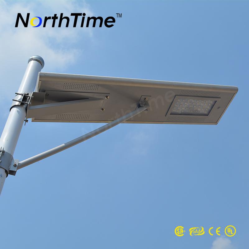 Phone APP Control Integrated Outdoor Solar Street Light 30W
