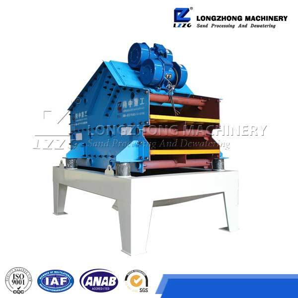 Double Dewatering Deck Vibrating Screen