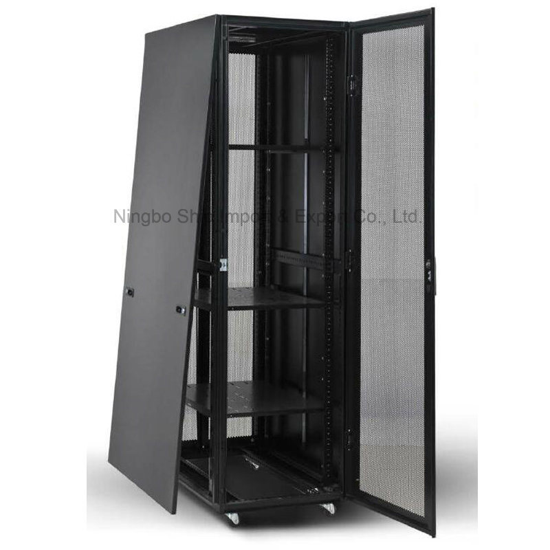 """Welded Frame Nine-Folded 19"""" Server Cabinet"""