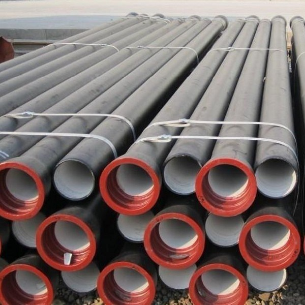 China ductile round iron pipe