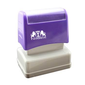 Dual Foam Pre Inked Stamp F2755