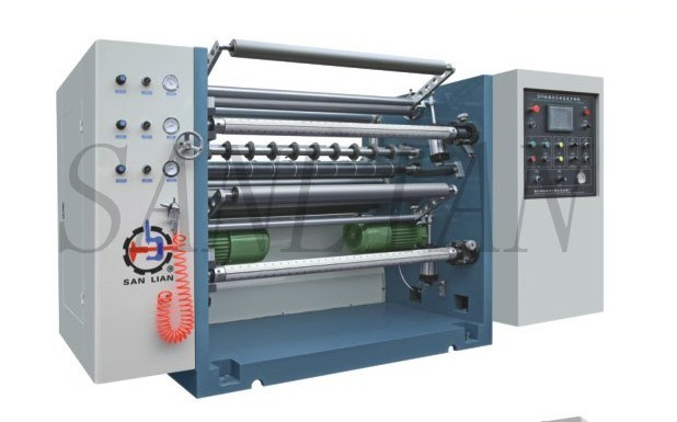 Automatic High Speed Slitting Rewinding Machine (SLM-1300B)