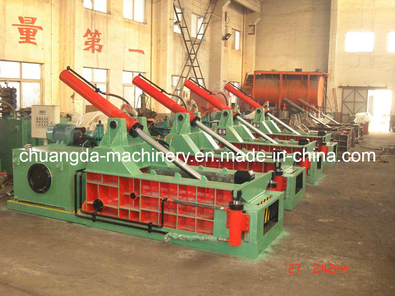 Metal Recycling Machine Scrap Metal Baler (YD1350)