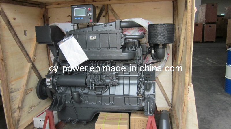 G128 Series Marine Engine, 187-267kw, Sdec