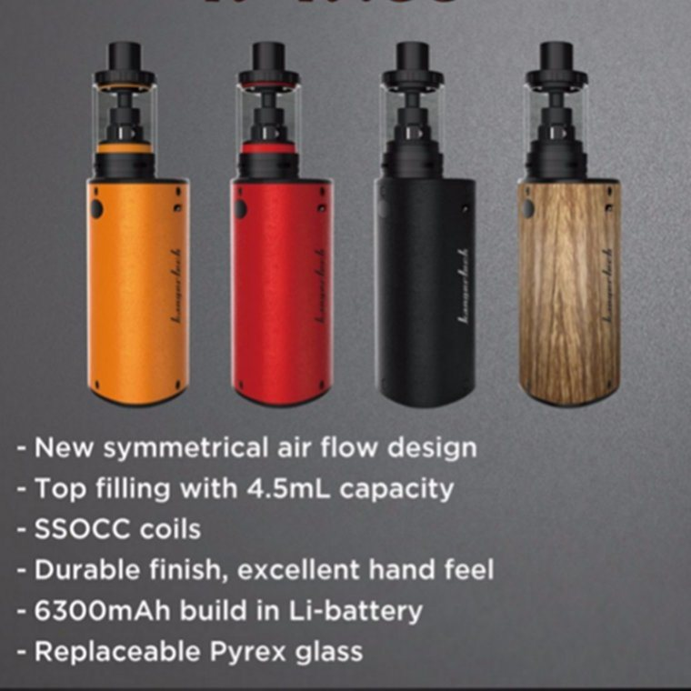 2017 Kangertech Newest Electronic Cigarettes K-Kiss 6500mAh Big Battery Vapor