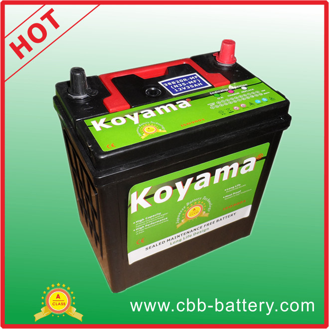 36ah 12V SMF Auto Car Battery Generator Battery Ns40-Mf