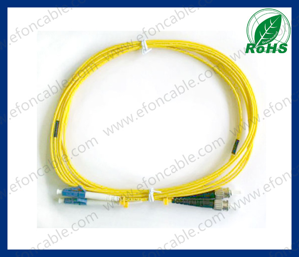 Fiber Optic R Patch Cord LC-St Single Mold