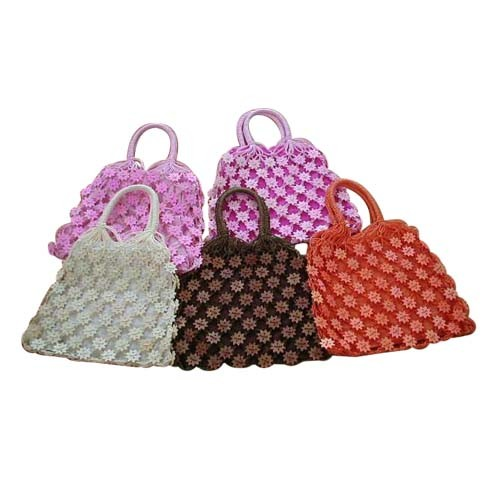 Crochet Pattern Central Bags : FREE PATTERN INSTRUCTIONS CROCHETED PLASTIC BAG BAGS