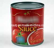 Canned Tomato Sauce with High Quality