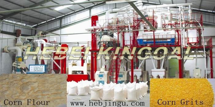 Maize Flour Mill Machine (6FYDT-20)