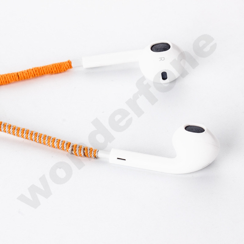 Creative Handmade Waven Headphones for All Mobile Phone