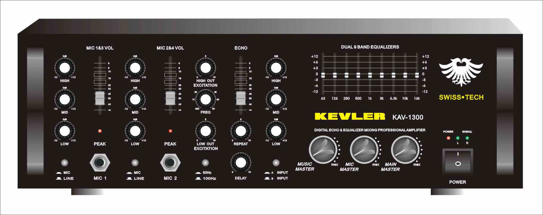 Band Power Amplifiers, K, Wiring Diagram Free Download