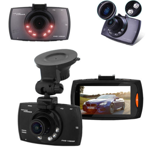"2.4"" 120 Degree Wide-Angle Lens Car DVR Dashcam"