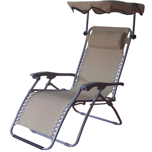 China Outdoor Folding Zero Gravity Chair with Luxury Canopy FH RT002C