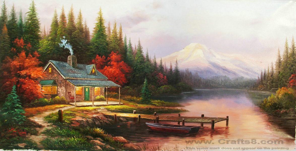 Amazing oil paintings oil paintings of lemons for Oil painting scenery