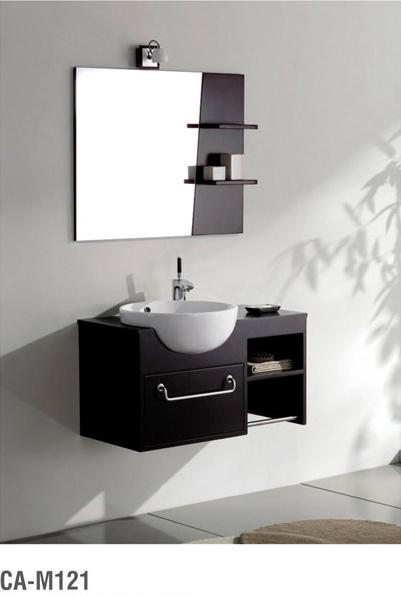 Modern Solid Wood Bathroom Cabinet Series