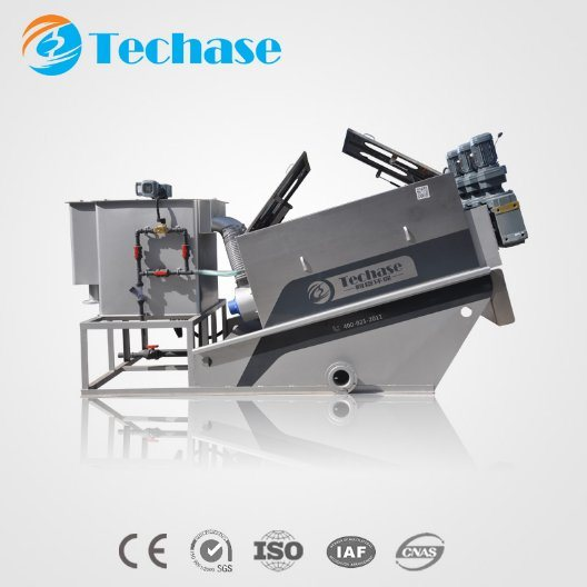 Quality Waste Water Sludge Treatment Automatic Dewatering Machine
