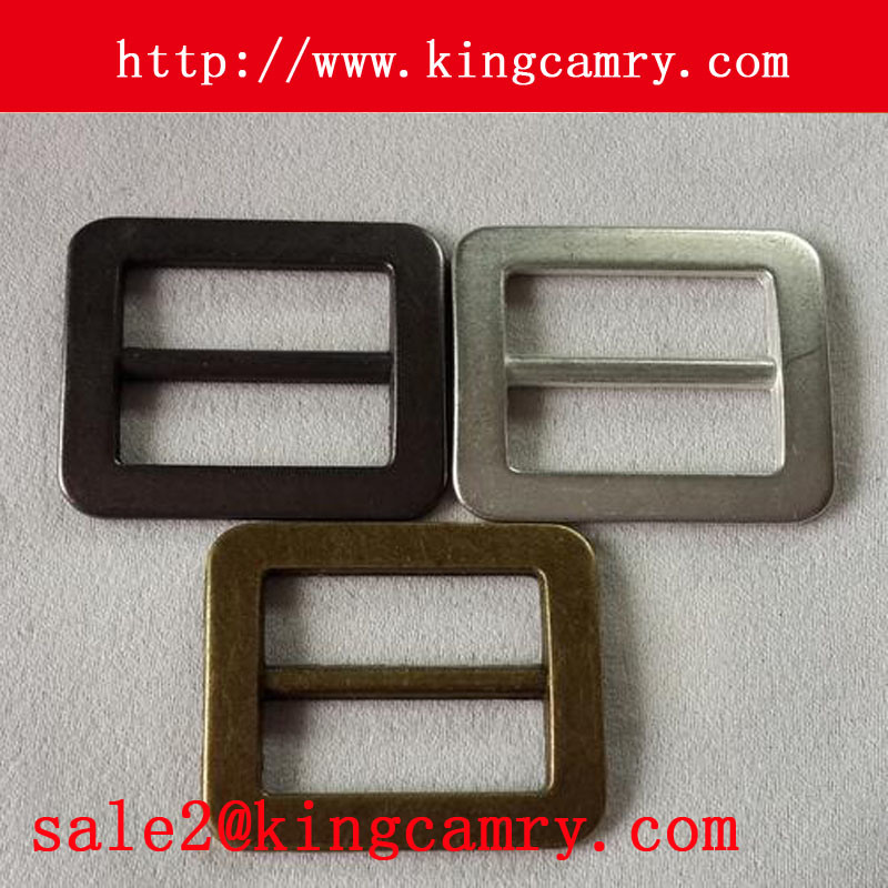 Adjustable Tri Glide Slider Buckle Metal Plate Tri Glide Buckle Metal Square Buckle Bag Buckle Shoe Buckle