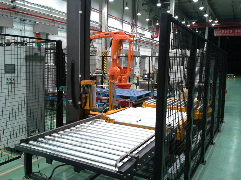 Tp2000fz Automatic Pallet Stretch Wrapping Machine