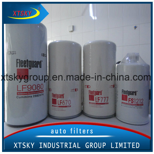 Oil/Fuel Filter with Brand (Fleetguard, Cat, Perkins, Jcb)