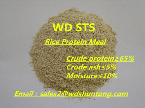 Feed Additive Rice Protein Meal for Animal Feed