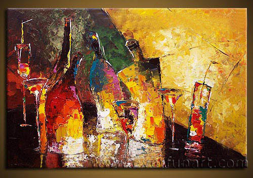 China Modern Handmade Canvas Art Abstract Oil Painting (XD1-103 ...