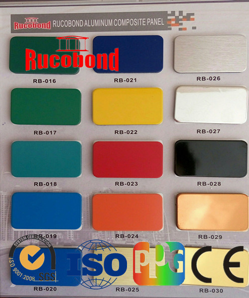 Aluminum Composite Panel ACP Acm Building Materials Cladding Panel