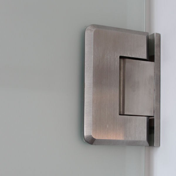 Brass Frameless Glass Shower Hinges (SHS. 90W. BR)