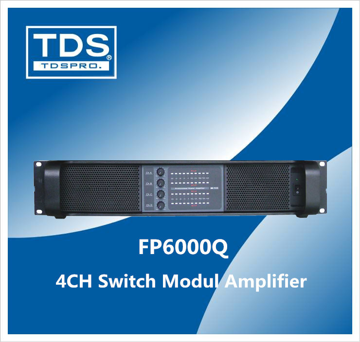 4CH Switching Power Amplifier (FP6000Q)