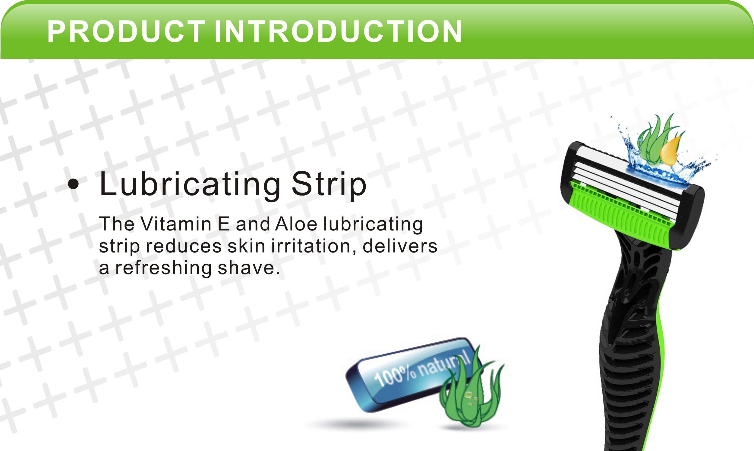 4 Blade Disposable Razor Factory Direct Supply Plastic Shaver, Plastic Shaving Razor,