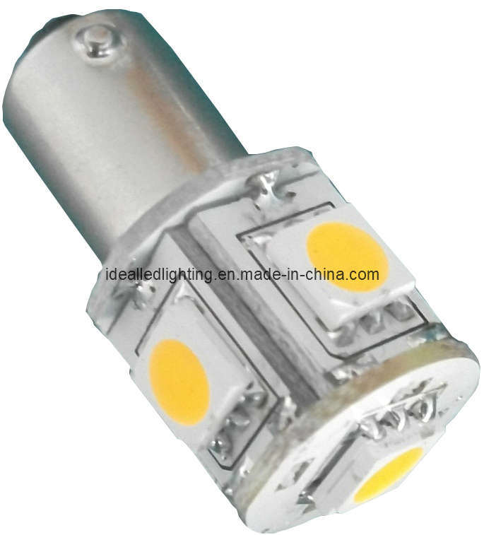 LED Ba9s 5LED Auto Lamp