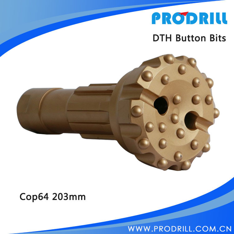 Down The Hole/DTH Drill Rock Button Bit for Drilling/Mining/Hammer