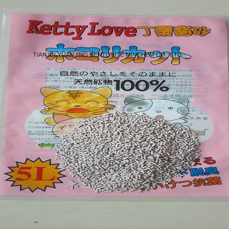 High Quality Bentonite Strip Cat Litter Manufacturer in China