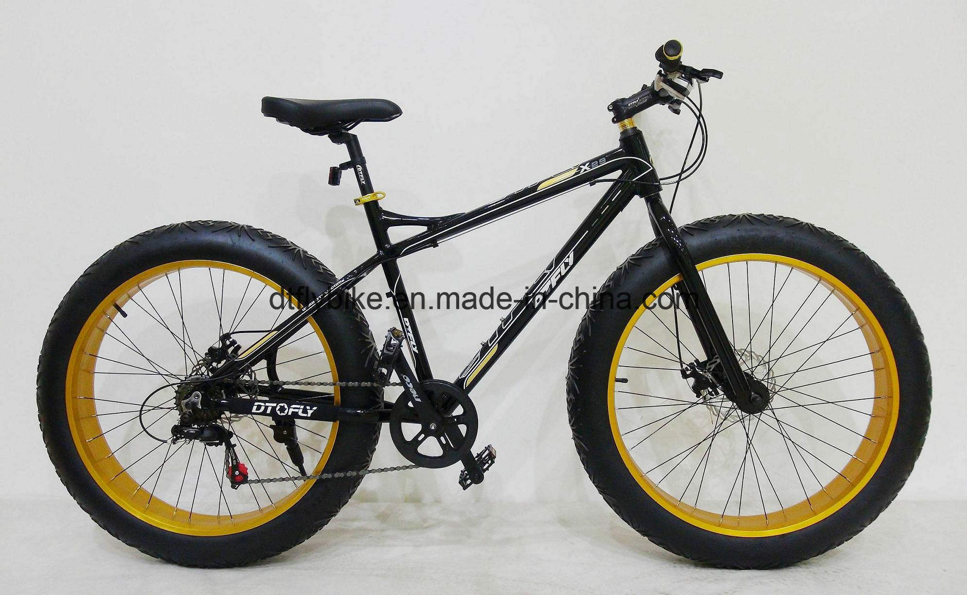 "Bike: 26""Snow Bike, Fat Bike, with Shimano 7s"