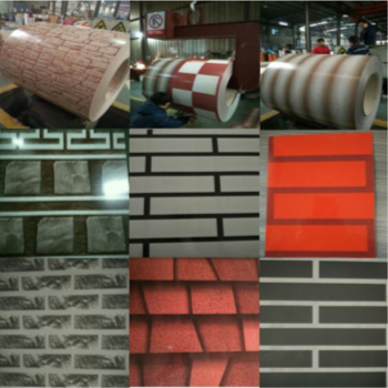 2016 New Decorative Design Prepainted Galvanized Steel Coil