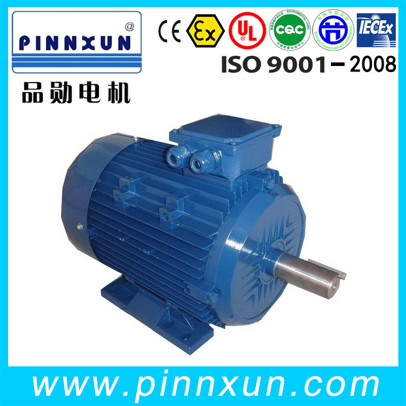 Y2 Cast Iron Asynchronous AC Electric Three Phase Induction Blower Axial Fan Water Pump Air Compressor Gear Box Motor