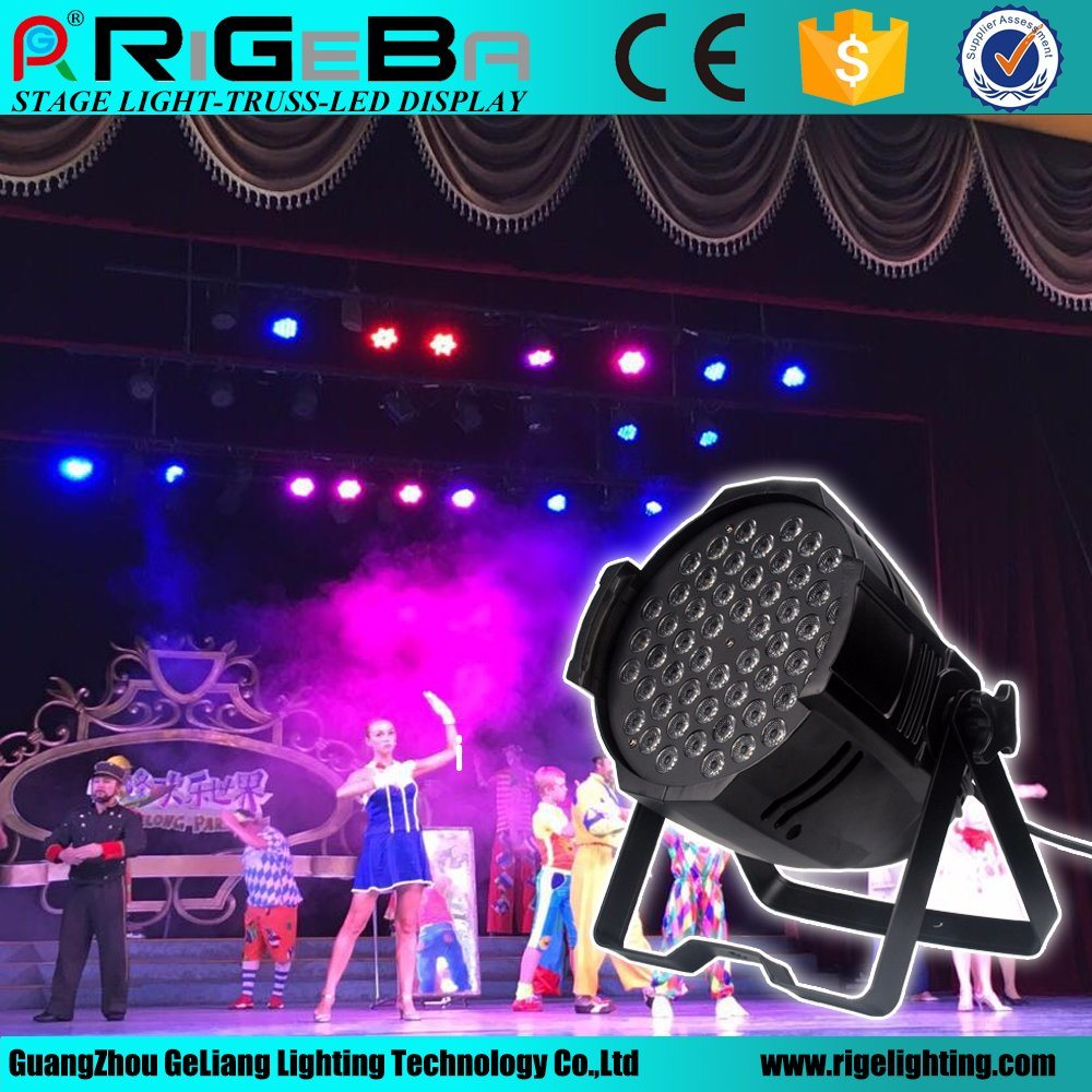 Stage Light DMX Control RGBW LED 54 3W PAR Light