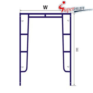 Walk Through Frame-Drop Lock for Scaffolding