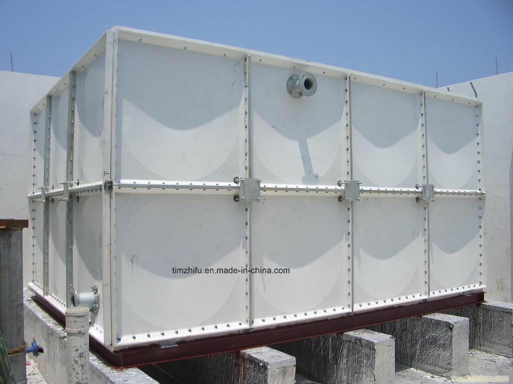 GRP, Ss, Enamal Coating Steel, Sectional Water Storage Tank
