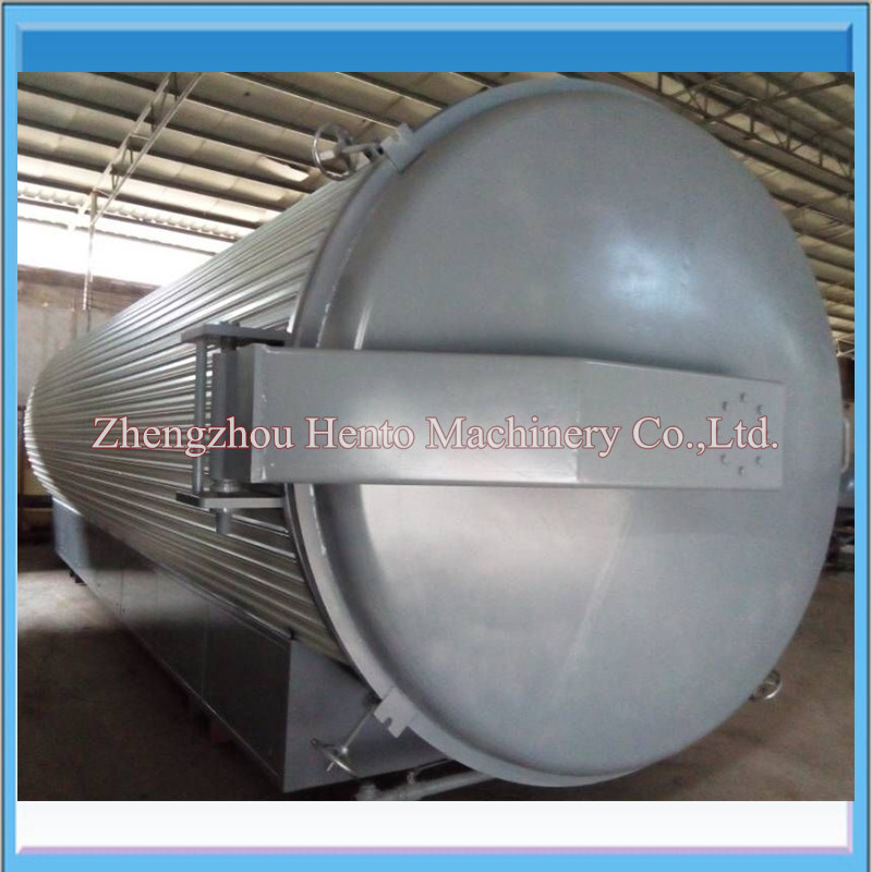 Industrial Automatic Rotary Dryer/Microwave Vacuum Dryer