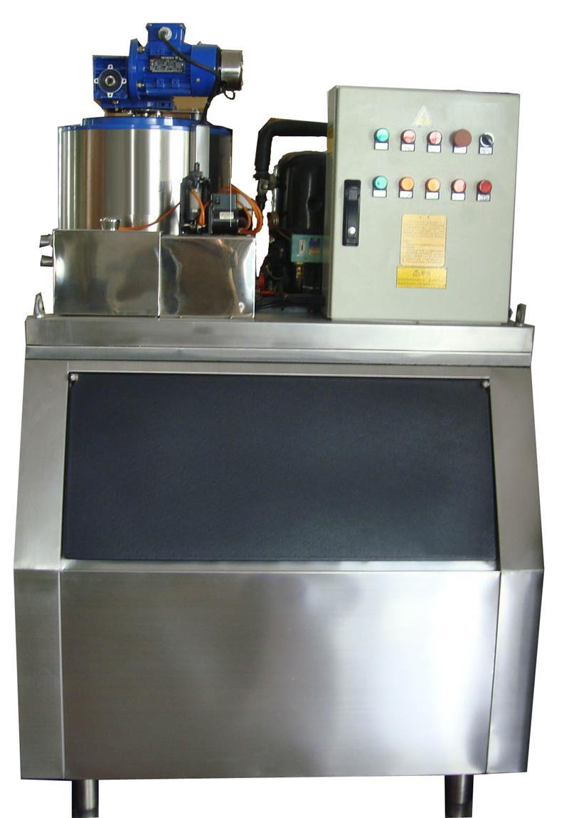 1000kgs Scale Ice Machine for Food Progressing